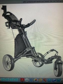 CaddyTek V8 Caddy Lite-Wheel Golf Cart with Swivel Front Whe