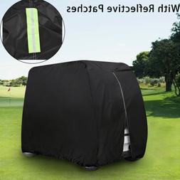 golf cart cover waterproof zipped storage equipment