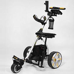 Bat-Caddy X3R Remote Control Cart w/ Free Accessory Kit, Sil