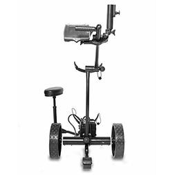 Bat-Caddy X4 Pro Electric Golf Push Cart 2017 12V 35/36Ah SL