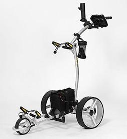 Bat-Caddy X4 Sport Electric Push Cart w/ Free Accessory Kit,