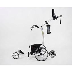 Bat-Caddy X4R Remote Control Golf Cart/Trolley w/ Deluxe Acc