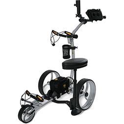 Bat Caddy X8R Electric Golf Bag Cart Caddy w/ Lithium Batter