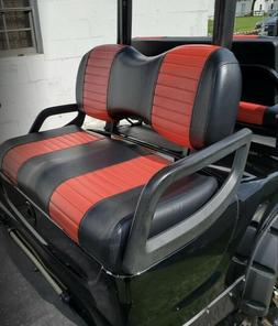 Yamaha Drive Golf Cart Custom Seat Cover Set - 2 STRIPE STAP