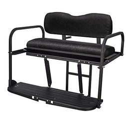 Gusto EZGO TXT Golf Cart Flip Folding Rear Back Seat Kit - B